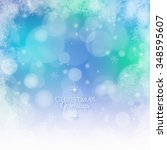 christmas background | Shutterstock . vector #348595607