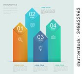 simplicity infographic template ... | Shutterstock .eps vector #348632963