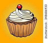 cake pop art style raster...   Shutterstock . vector #348686933