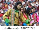thimphu  bhutan   september 25  ...   Shutterstock . vector #348695777