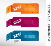 caption best.  message on... | Shutterstock .eps vector #348716783