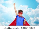 carnival  childhood  power ... | Shutterstock . vector #348718073