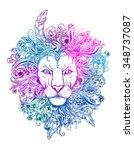 Excellent Lion Graphic Style...