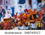 Amsterdam Walk. Flowers Market...