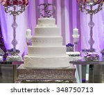 Delicious Wedding Cake In A...
