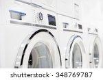 washing machines  dryer and... | Shutterstock . vector #348769787