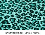 leopard skin background | Shutterstock . vector #34877098