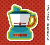 kitchenware electric juicer...   Shutterstock .eps vector #348927623