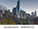 new york city   december 5 ... | Shutterstock . vector #348945113