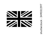 flag  united kingdom flag icon | Shutterstock .eps vector #349031597