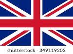 flag of united kingdom   Shutterstock .eps vector #349119203