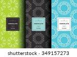 vector set of design elements... | Shutterstock .eps vector #349157273