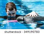 montreal  circa june 2014   two ... | Shutterstock . vector #349190783