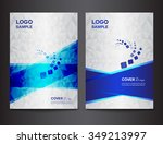 set white cover design template ...