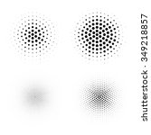 abstract halftone backgrounds....   Shutterstock .eps vector #349218857