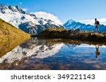 mt. cook | Shutterstock . vector #349221143