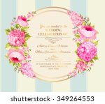 awesome vintage label of color... | Shutterstock .eps vector #349264553