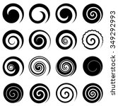 Set Of Simple Spirals  Isolate...