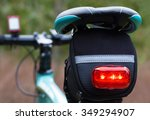 Rear Lights Of A Bicycle ...