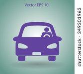 driver vector icon | Shutterstock .eps vector #349301963