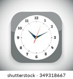 time and clock icon. time ...