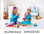 Children With Music Instrument...