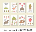 Cute Hand Drawn Doodle Cards ...