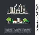 eco save world vector  | Shutterstock .eps vector #349371833
