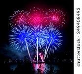 Celebratory Bright Firework In...