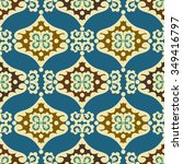 vintage arabic and islamic... | Shutterstock .eps vector #349416797