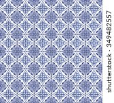 gorgeous seamless patchwork... | Shutterstock .eps vector #349482557