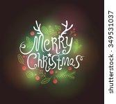 christmas badge  logo  labels ...   Shutterstock .eps vector #349531037