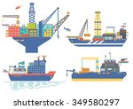 Oil Platform  Drillship  Oil...
