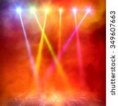 background in show. vector... | Shutterstock .eps vector #349607663