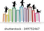 learn   play children...   Shutterstock .eps vector #349752467