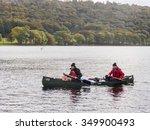 coniston  cumbria  uk. october... | Shutterstock . vector #349900493