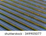 solar panels solar farm | Shutterstock . vector #349905077