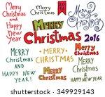 christmas typographic doodle...