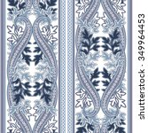 Seamless Pattern With Paisley....