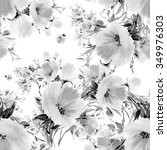 seamless pattern watercolor... | Shutterstock . vector #349976303