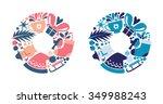 vector illustration of... | Shutterstock .eps vector #349988243