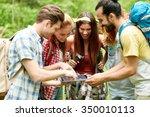 technology  travel  tourism ...   Shutterstock . vector #350010113