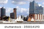 Skyline Of Hamburg  Germany