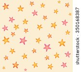 colorful stars pattern | Shutterstock .eps vector #350168387