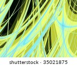 an artistic fantasy background | Shutterstock . vector #35021875