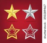 glitter golden and... | Shutterstock .eps vector #350289467