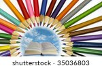 education concept   Shutterstock . vector #35036803