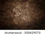 Texture Of Land Dried Up By...