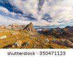 Panoramic View Of High Mountai...