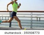 young fitness woman runner...   Shutterstock . vector #350508773